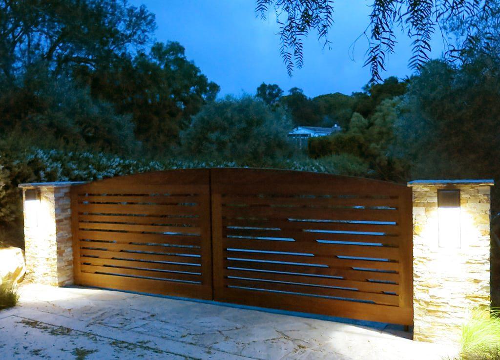 custom built residential landscaping