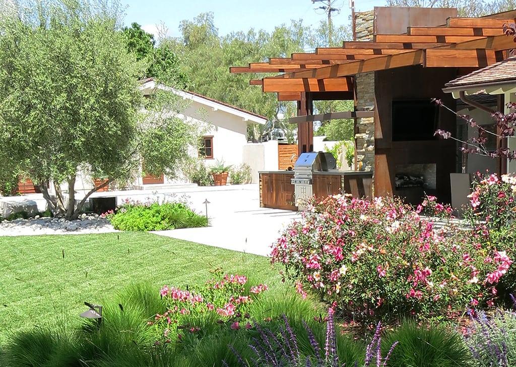 custom built designer landscaping
