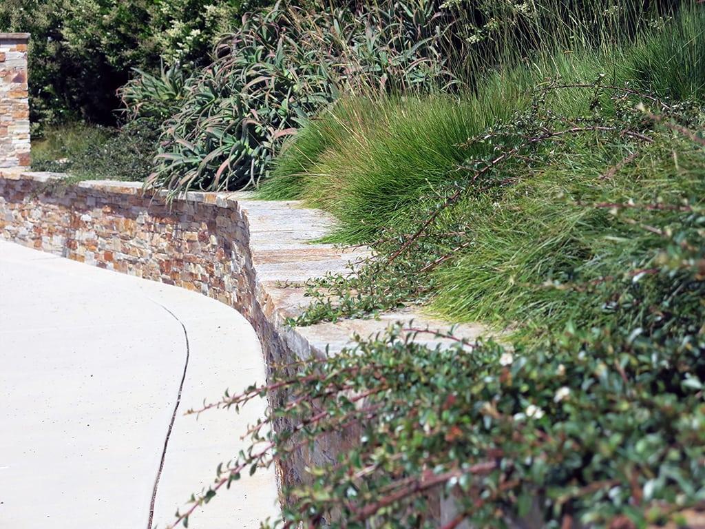 designer landscaping build