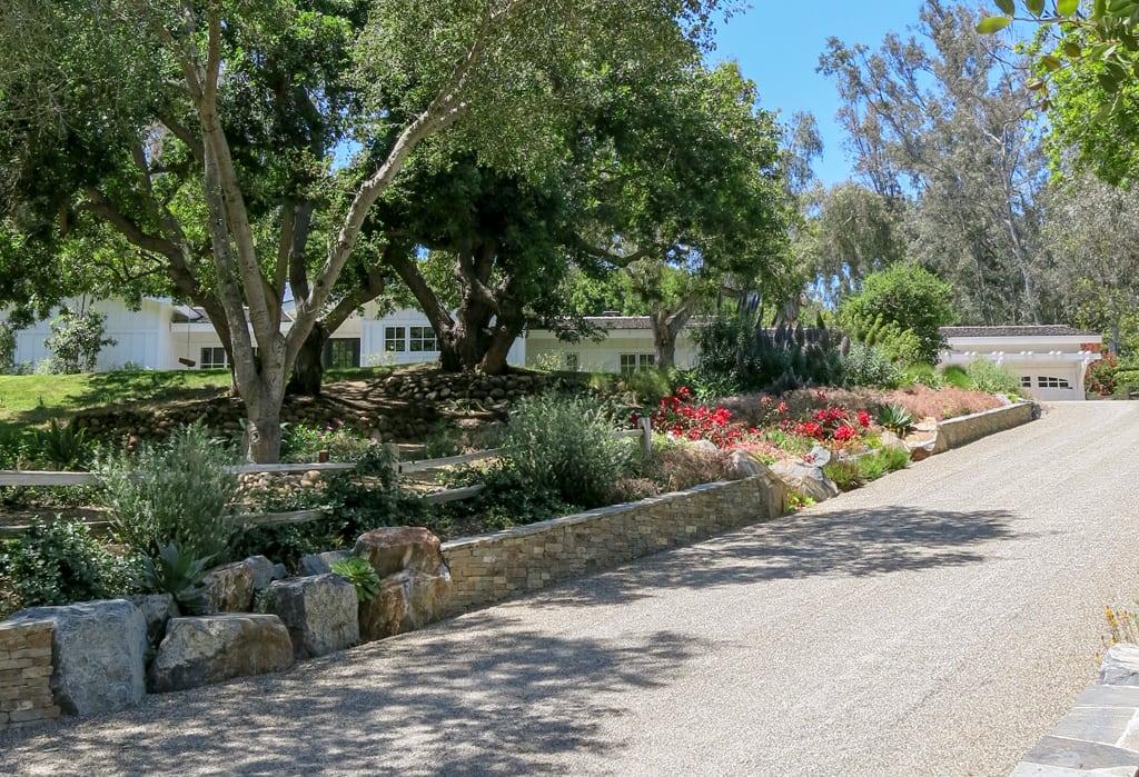designer residential landscape